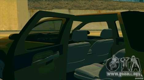 Chevrolet Avalanche 2011 para la visión correcta GTA San Andreas