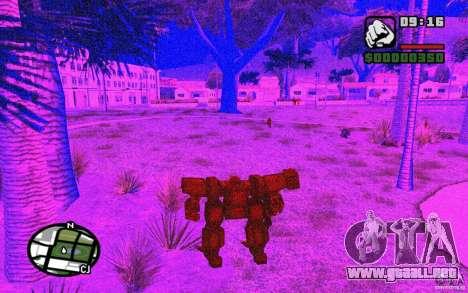 Exoesqueleto para GTA San Andreas sexta pantalla