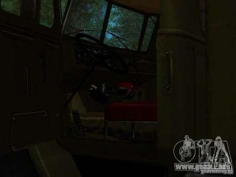 Ural 4320 Kung para vista lateral GTA San Andreas