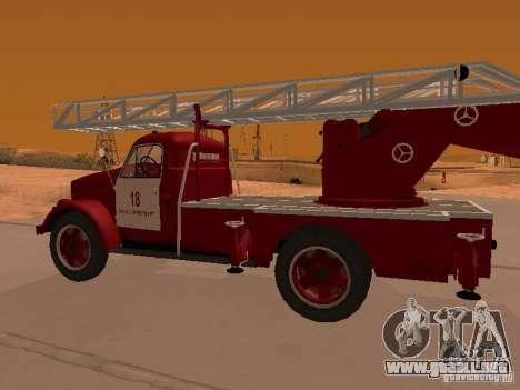 GAZ-51 ALG-17 para la visión correcta GTA San Andreas