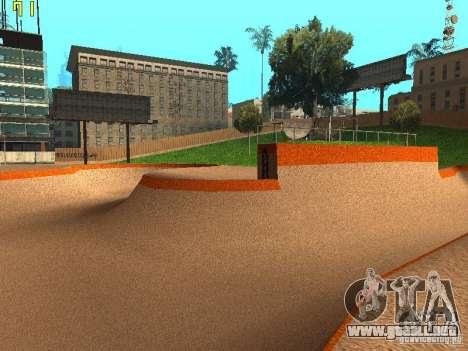 New SkatePark v2 para GTA San Andreas sexta pantalla