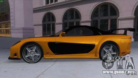 Mazda RX7 Veilside para GTA San Andreas left