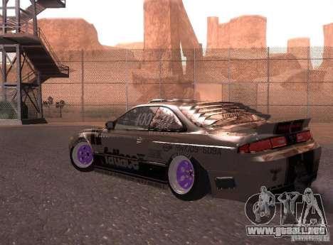 Nissan Silvia S14 Volklinger para la visión correcta GTA San Andreas