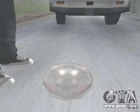 Mina v1.0 para GTA San Andreas segunda pantalla
