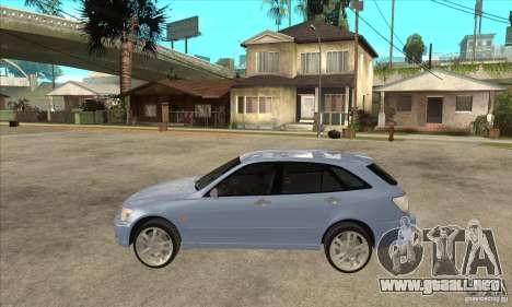 Toyota Alteza Wagon para GTA San Andreas left