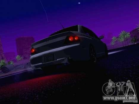 Mitsubishi Lancer Evolution VIII para el motor de GTA San Andreas