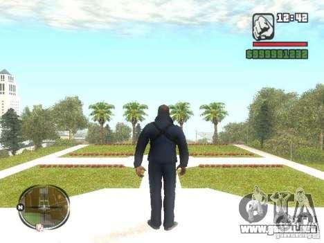 Viktor Zakhaev de COD MW 1 para GTA San Andreas segunda pantalla
