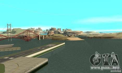 10x Increased View Distance para GTA San Andreas segunda pantalla