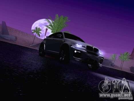 BMW X6 LT para GTA San Andreas interior