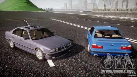 BMW 5 Series E34 540i 1994 v3.0 para GTA motor 4
