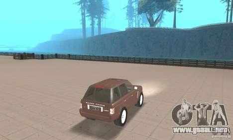 Range Rover Vogue 2004 para GTA San Andreas left