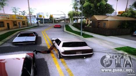 Los peatones se aferran para auto para GTA San Andreas