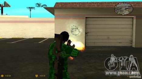 Cs 1.6 HUD v2 para GTA San Andreas tercera pantalla