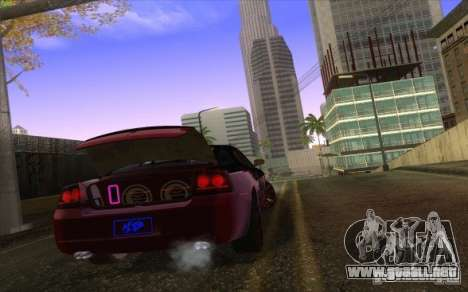 Dodge Charger SRT 8 para visión interna GTA San Andreas