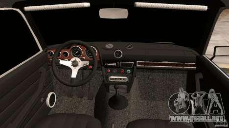 2106 VAZ Tuning v2.0 para GTA Vice City vista interior