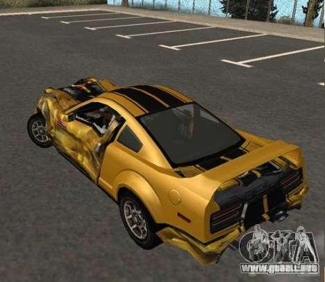 Road King from FlatOut 2 para la visión correcta GTA San Andreas