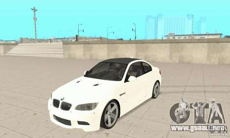 BMW M3 2008 Hamann v1.2 para GTA San Andreas left