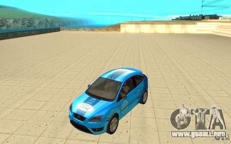 Ford Focus-Grip para visión interna GTA San Andreas