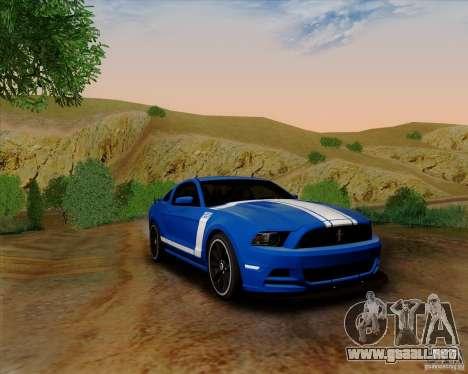 Ford Mustang Boss 302 para GTA San Andreas