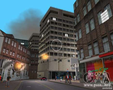 New Downtown: Shops and Buildings para GTA Vice City