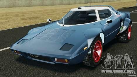 Lancia Stratos v1.1 para GTA 4