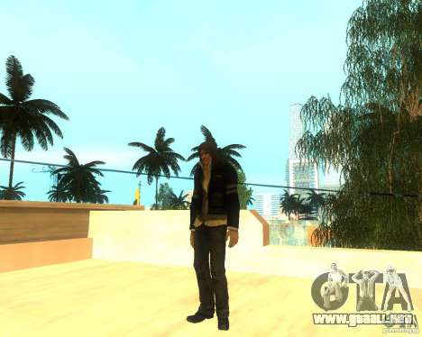 Alex Mercer ORIGINAL para GTA San Andreas