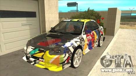 Subaru Impreza 2005 Mission Edition para GTA San Andreas