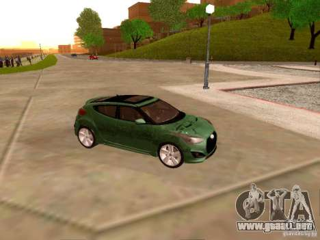 Hyundai Veloster Turbo v1.0 para visión interna GTA San Andreas