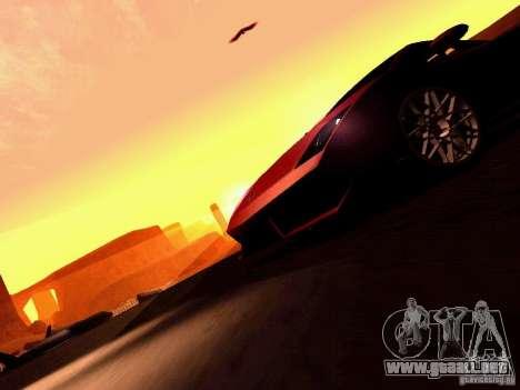 Lamborghini Gallardo LP560-4 para GTA San Andreas interior