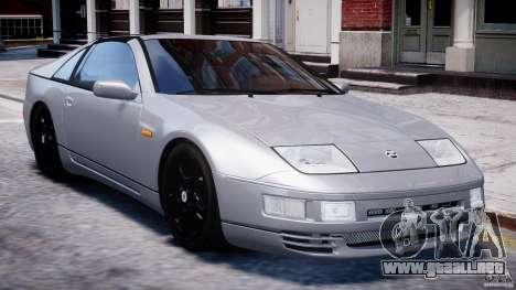 Nissan 300 ZX 1994 v1.0 para GTA 4 vista desde abajo