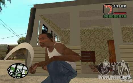 Hoz y martillo para GTA San Andreas segunda pantalla