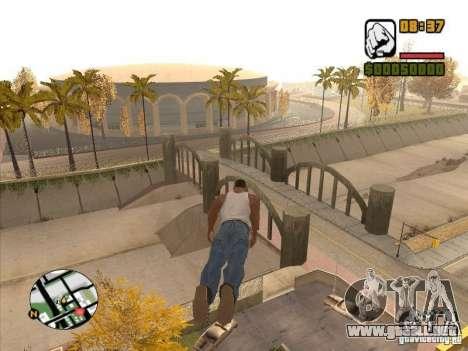 Hombres mosca-CJ estará más pronunciada que Supe para GTA San Andreas quinta pantalla