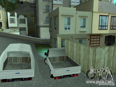 Ford Transit 2005 para la visión correcta GTA San Andreas