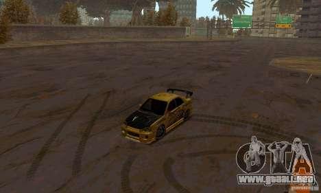 NFS Most Wanted - Paradise para GTA San Andreas décimo de pantalla