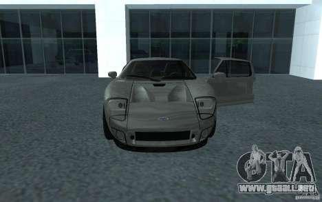 Ford GT 40 para GTA San Andreas vista posterior izquierda