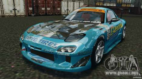 Mazda RX-7 RE-Amemiya v2 para GTA 4