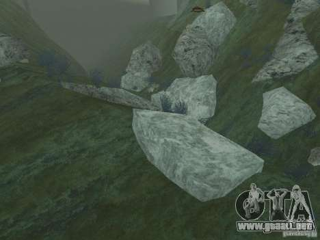 Texturas HD del fondo marino para GTA San Andreas