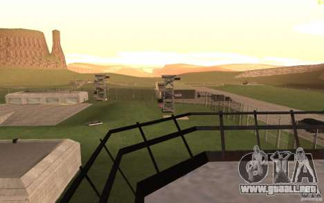 New desert para GTA San Andreas novena de pantalla