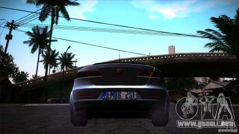 Alfa Romeo 159 Ti para la visión correcta GTA San Andreas