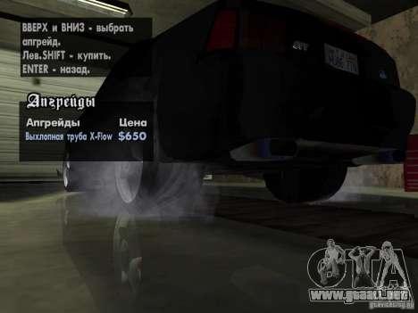 Ford Mustang Cobra R Tuneable para GTA San Andreas interior