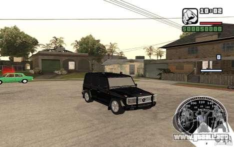 Mercedes-Benz G500 FBI para GTA San Andreas