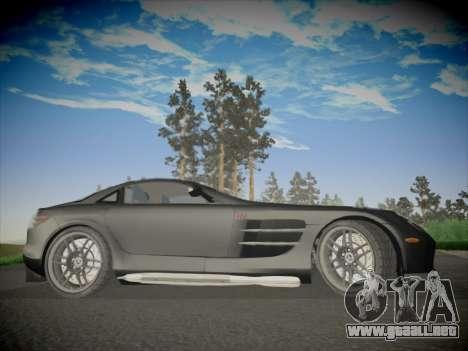 Mercedes-Benz SLR 722 Custom Edition para GTA San Andreas vista hacia atrás