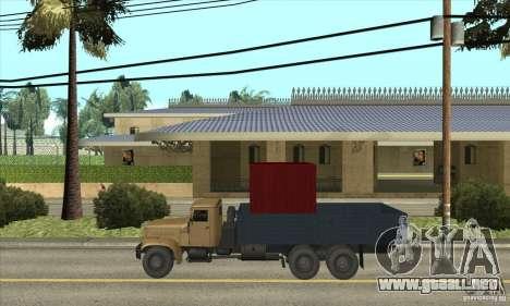 KrAZ-257 para GTA San Andreas left