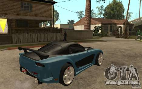 Mazda RX 7 VeilSide para la visión correcta GTA San Andreas