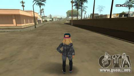 Skin Pack The Rifa para GTA San Andreas novena de pantalla