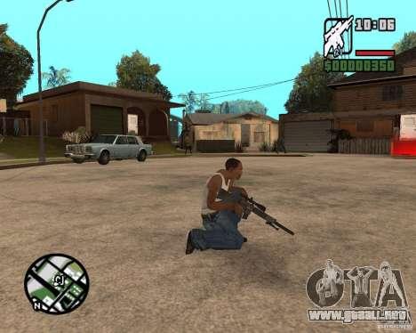 SR 25 para GTA San Andreas segunda pantalla