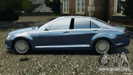 Mercedes-Benz W221 S500 2006 para GTA 4 left