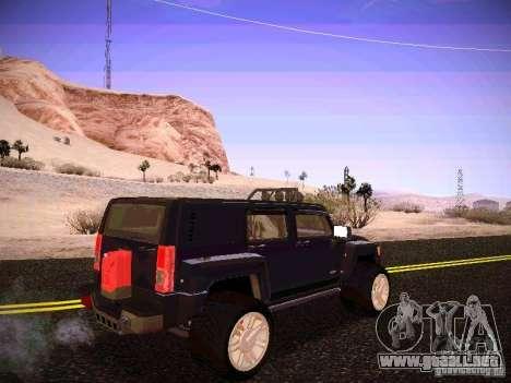 Hummer H3R para la visión correcta GTA San Andreas