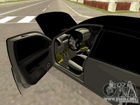 Lada Kalina para la visión correcta GTA San Andreas