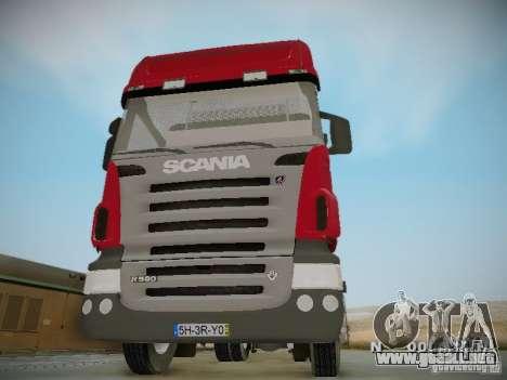 Scania R580 Topline para visión interna GTA San Andreas
